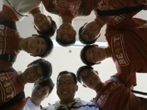 Kung fu physics group photo